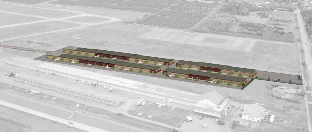 build an aircraft hangar