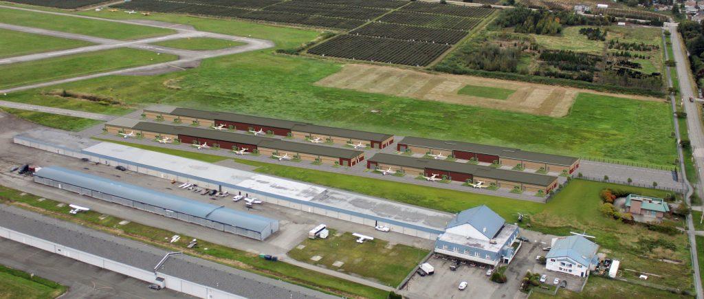 build a hangar in BC
