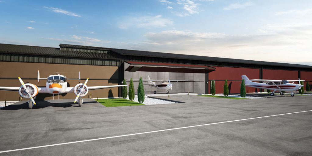 general aviation hangars BC