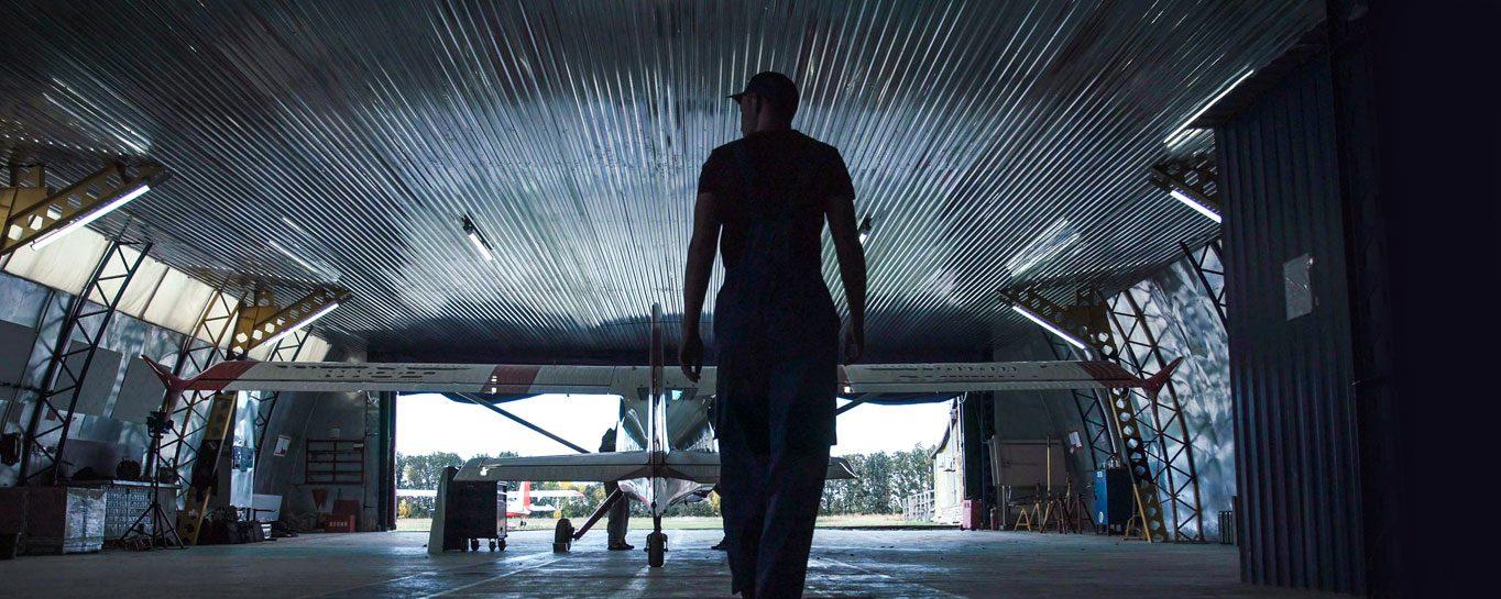 aircraft hangar space