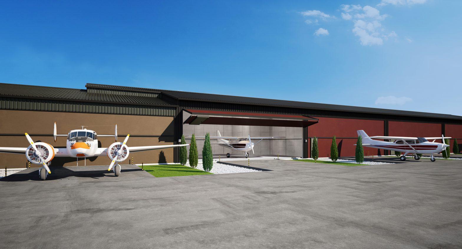Golden Ears Airpark hangar